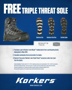 Korkers Wrapter and Triple Threat Promo