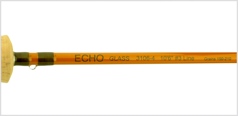 Echo Glass Fly Rod