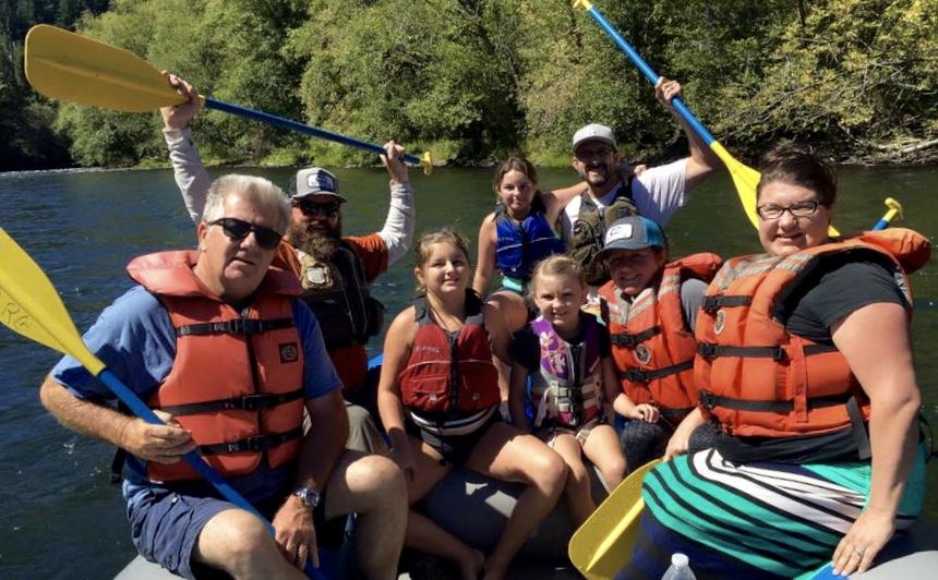 McKenzie River Rafting Trip