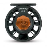 Ross Animas Fly Reel Stealth Black w/Bronze Hardware